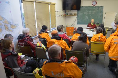 Salt Spring Search and Rescue Training