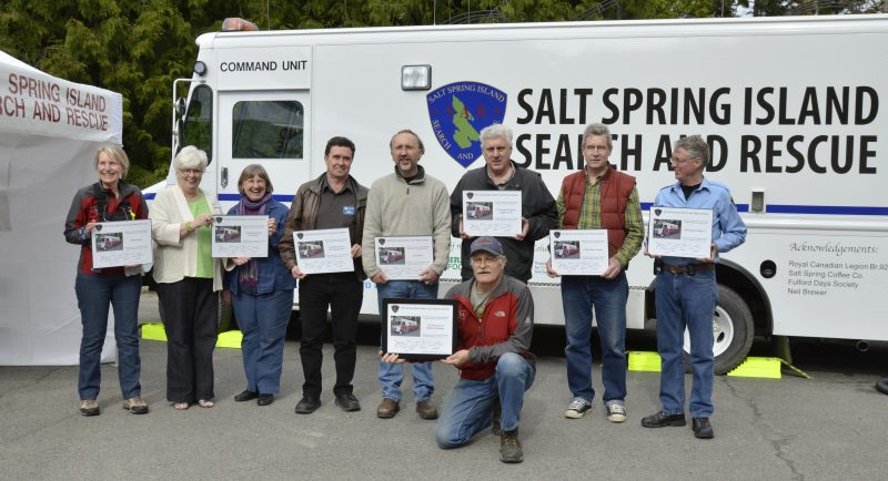 Salt Spring Island Search and Rescue Funding and Donations