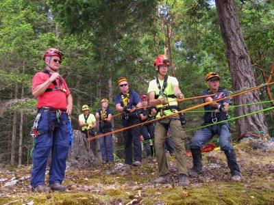 Salt Spring Search and Rescue Rope Rescue