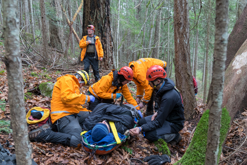 Salt Spring Island Search and Rescue Stretcher